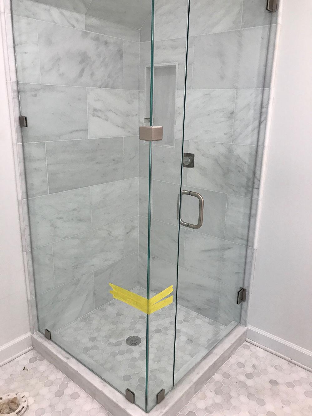 Frameless Shower Door Project August 2018 Clarity Glass